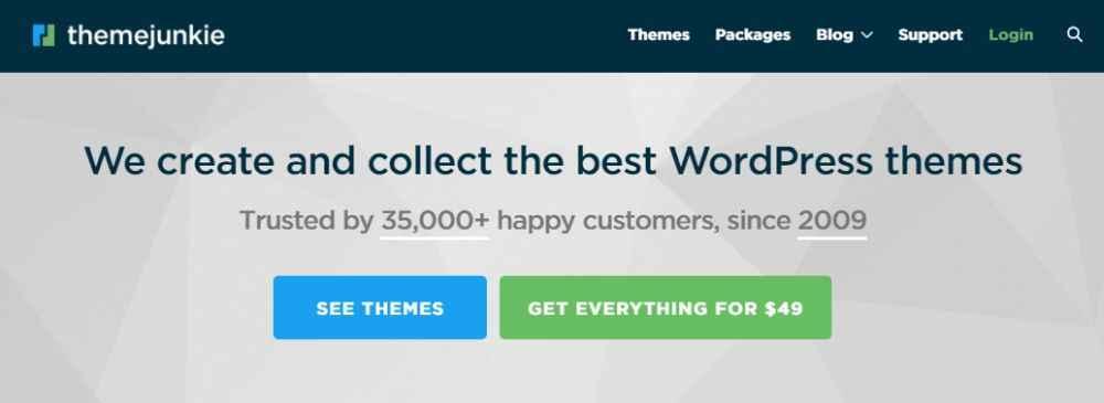 Theme Junkie WordPress Theme Club Review