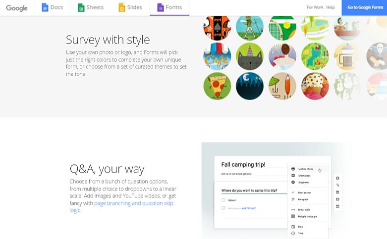 Google Forms- Simple Online Survey Builder