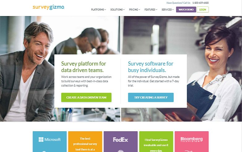 SurveyGizmo- Professional Survey and Poll Builder