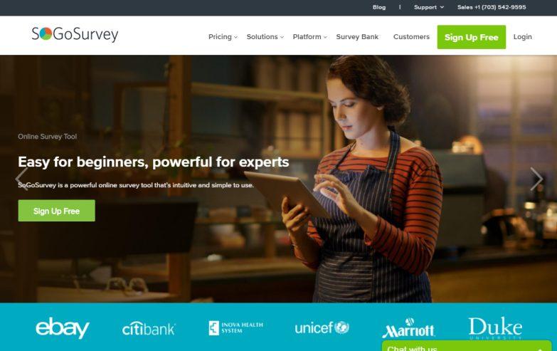 SogoSurvey- Online Surveys with Anonymous Survey Setting