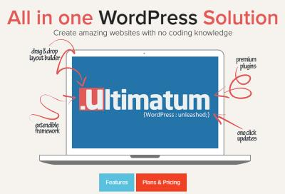 Ultimatum Theme and Page Builder Review