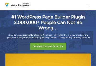 Visual Composer WordPress Page Builder Review