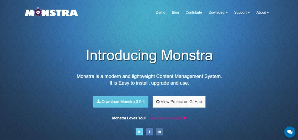 Monstra Flat File CMS Review