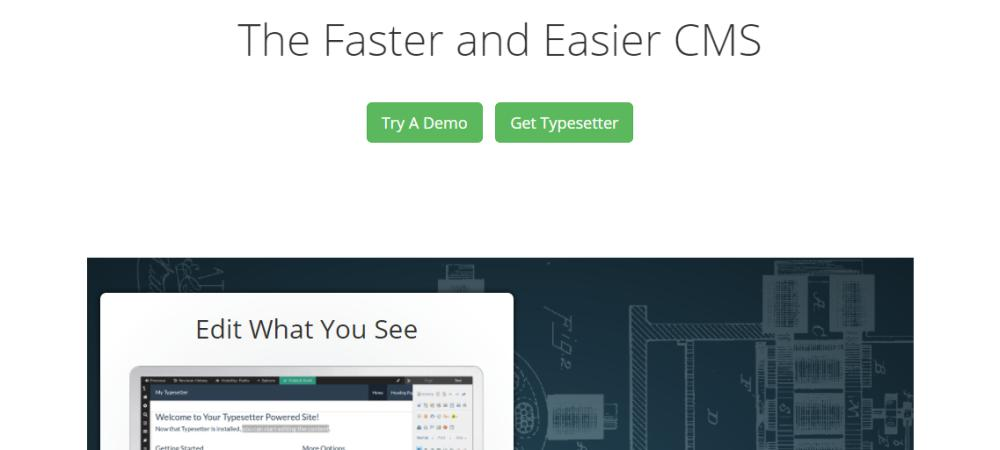 TypeSetter Flat File CMS Review