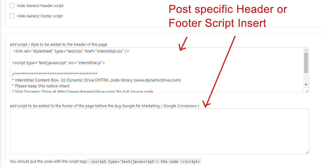 Add JavaScript and CSS to the HEAD or Footer section of specific posts in WordPress
