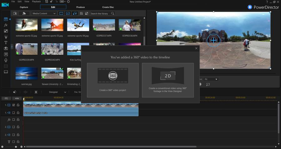 PowerDirector 16 Video Editor Review