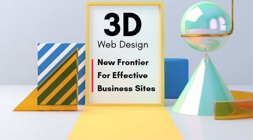 3D Web Design for Business Sites